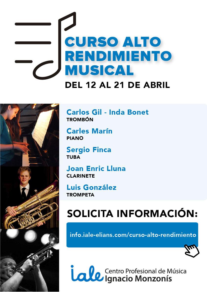 Cartel curso alto rendimiento musical-03